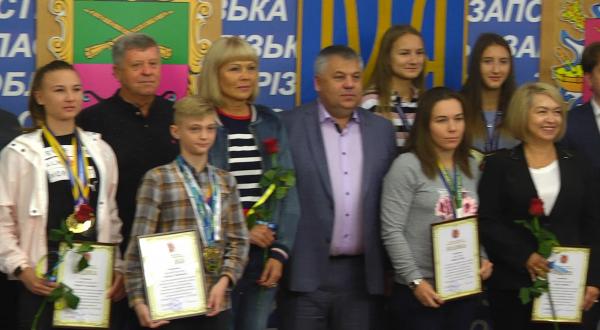 В Запорожье отметили наградами лучших спортсменов (ФОТО)