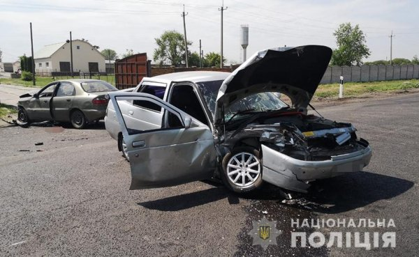 В Запорожской области произошла авария, в результате которой погиб человек (ФОТО)