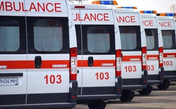 В Запорожской области молодая женщина упала со второго этажа