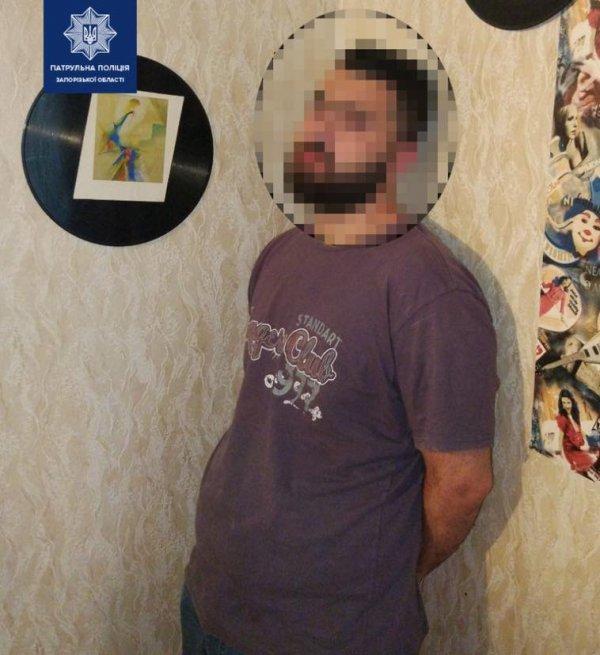 В Запорожье задержали наркоторговца (ФОТО)
