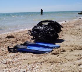 В Запорожской области чуть не утонул мужчина