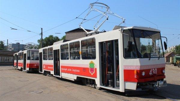 В Запорожье временно изменится движение трамваев