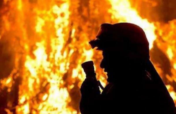 В Запорожье в пожаре погиб человек