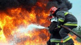 В Запорожской области горела хозяйственная постройка